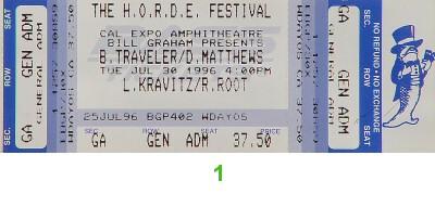 Blues Traveler1990s Ticket