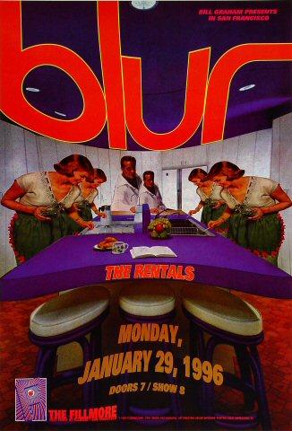 Blur Poster