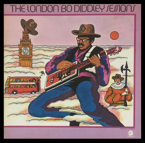 Bo Diddley Framed Album Cover