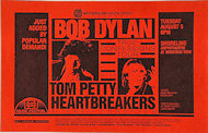 Tom Petty &amp; the Heartbreakers Handbill