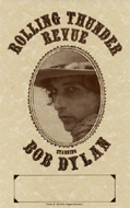 The Rolling Thunder Revue Handbill