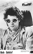 Bob Geldof Promo Print