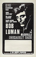 Bob Luman & His Nashville Rockabilly Band Poster