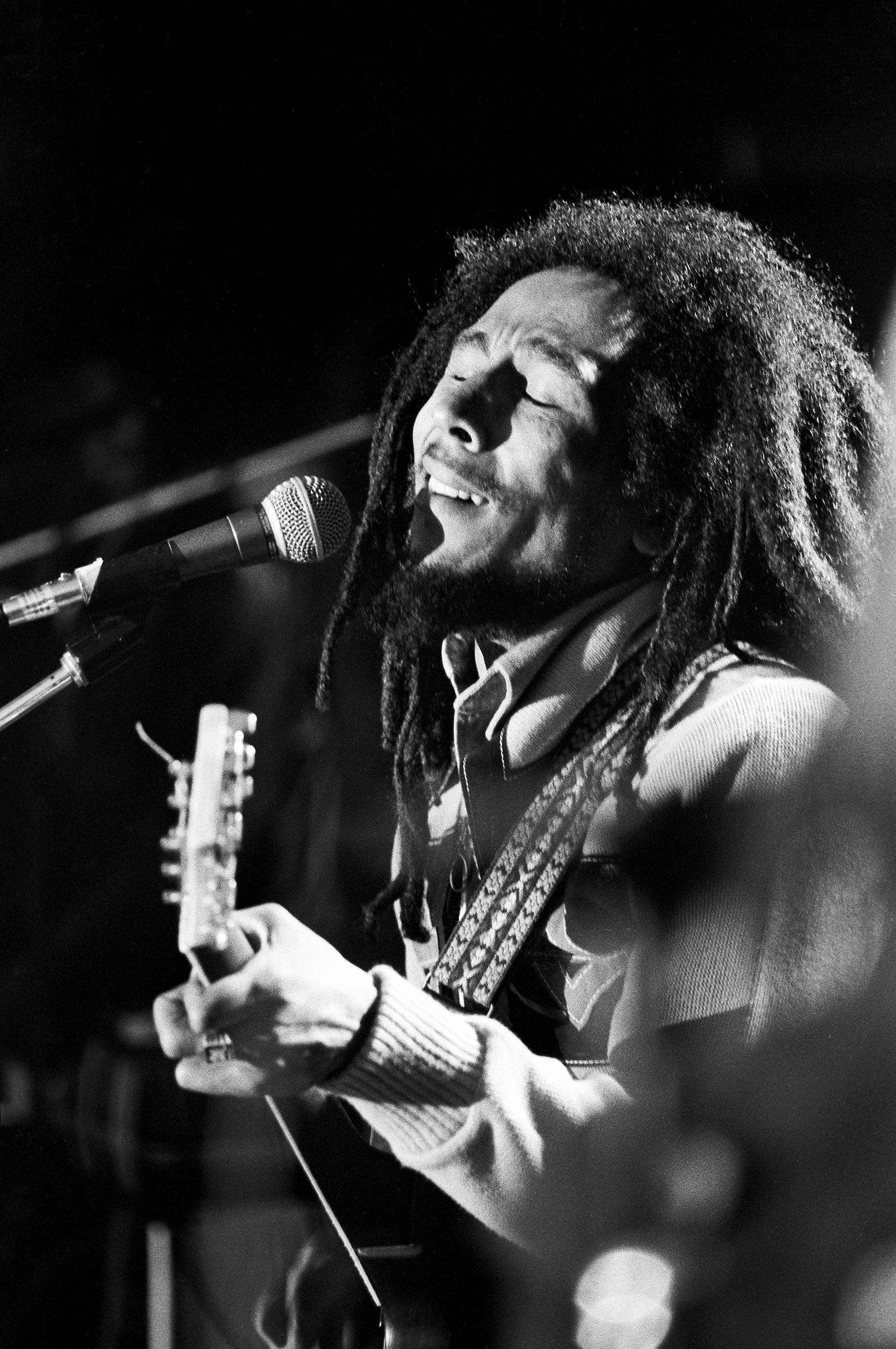 Bob MarleyFine Art Print