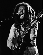Bob Marley Fine Art Print
