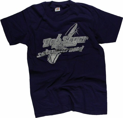 Bob Seger and The Silver Bullet Band Men's Retro T-Shirt