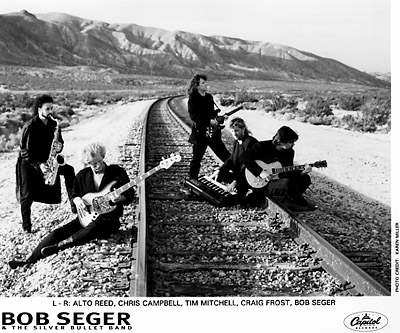 Bob Seger and The Silver Bullet Band Promo Print