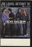 Bob Seger Backstage Pass