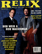 Bob Weir & Rob Wasserman Magazine