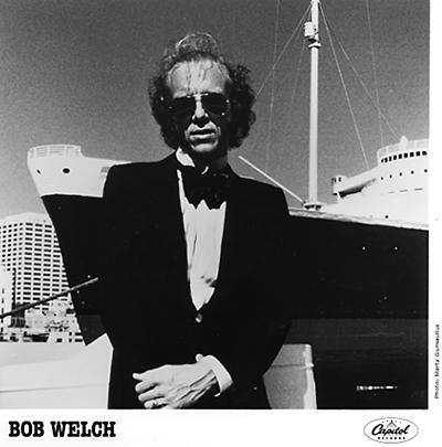 Bob Welch Promo Print