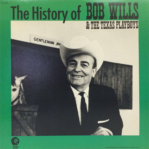 Bob Wills & His Texas Playboys Vinyl (Used)