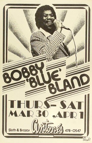 Bobby &quot;Blue&quot; BlandPoster