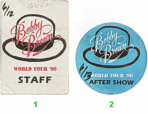 Bobby BrownBackstage Pass