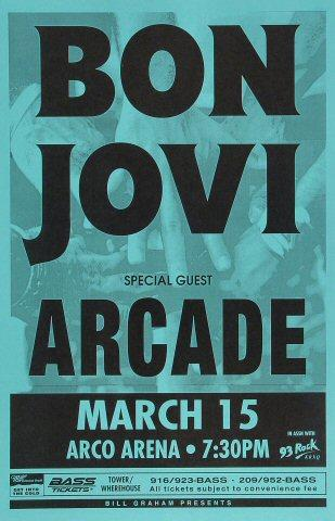 Bon Jovi Poster