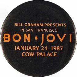 Bon JoviVintage Pin