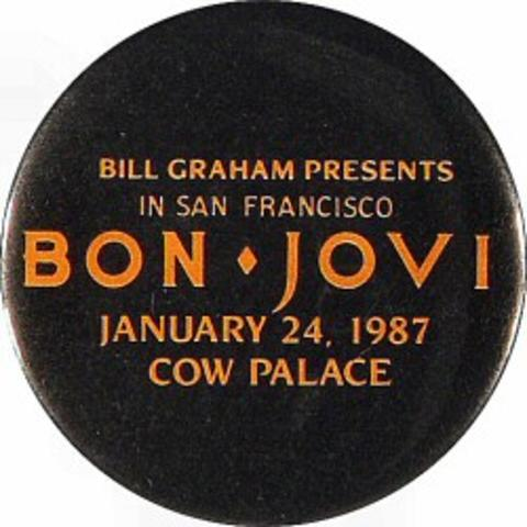 Bon Jovi Vintage Pin