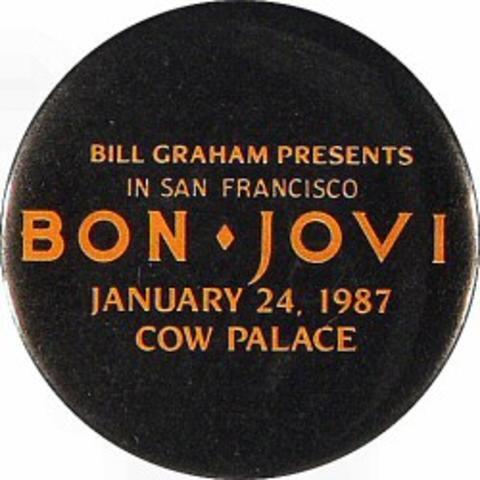 Bon Jovi Vintage Pin