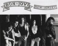 Bon Jovi Vintage Print