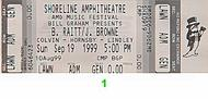 Bonnie Raitt 1990s Ticket