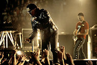U2 BG Archives Print