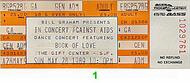 Book of Love 1980s Ticket