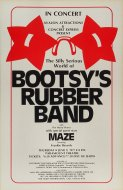 Bootsy's Rubber Band Poster
