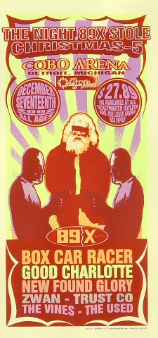 Box Car Racer Handbill
