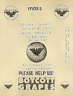Boycott Grapes Handbill
