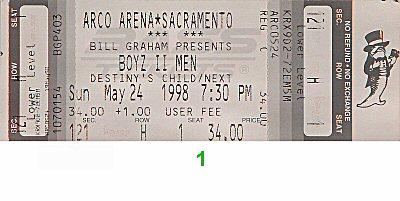 Boyz II Men1990s Ticket