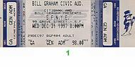 Boz Scaggs 1990s Ticket