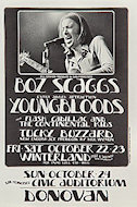 Boz Scaggs Handbill