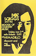 Boz Scaggs Poster