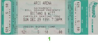 Brian Boitano1990s Ticket