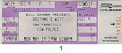 Brian Boitano1990s Ticket