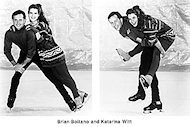Brian Boitano Promo Print