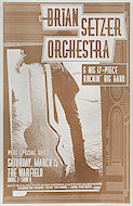 Brian Setzer Orchestra &amp; His 17 Piece Rockin' Big Band Poster