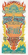 Brian Setzer Orchestra Handbill
