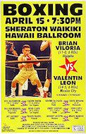 Brian Viloria Poster