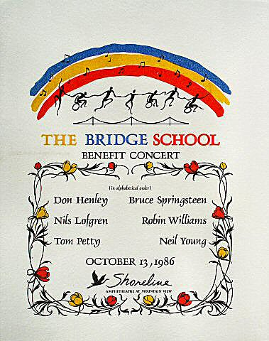 Bridge School Benefit Pelon