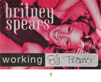 Britney SpearsBackstage Pass