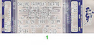 Britney Spears Vintage Ticket