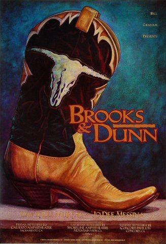 Brooks &amp; Dunn Poster