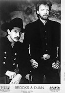 Brooks &amp; Dunn Promo Print