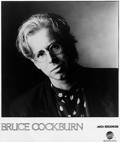 Bruce CockburnPromo Print