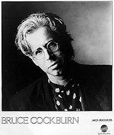 Bruce Cockburn Promo Print