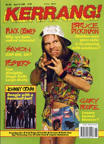 Bruce DickinsonMagazine