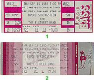 Bruce Springsteen & the E Street Band 1980s Ticket