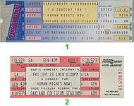 Bruce Springsteen &amp; the E Street Band 1980s Ticket