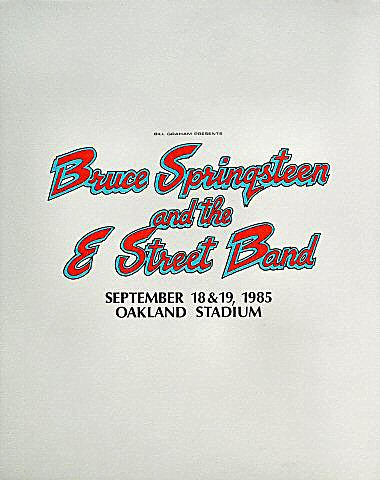 Bruce Springsteen & the E Street Band Pelon
