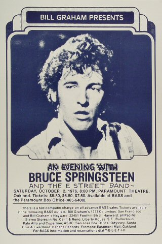 Bruce Springsteen &amp; the E Street BandPoster